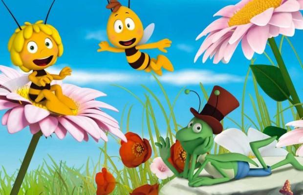 Videomix l ape maia il film for Disegni da colorare e stampare ape maia